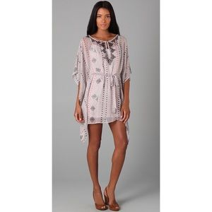 Twelfth St by Cynthia Vincent Flutter Caftan Dress